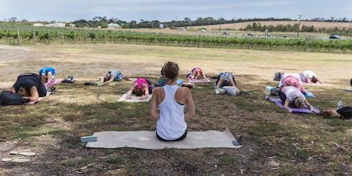 Yoga At Bellarine Estate Winery