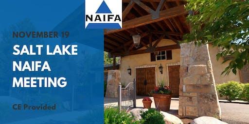 NAIFA Salt Lake Valley November Meeting