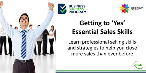 Getting to 'Yes', Essential Sales Skills