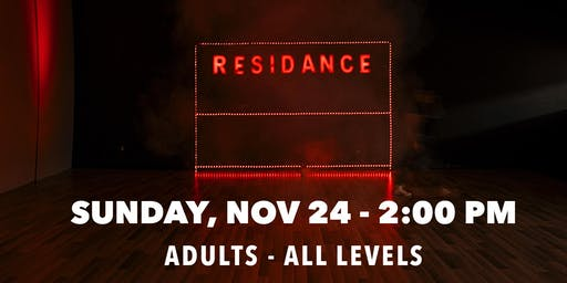 11/24 Urban Dance Class | Adults - All levels | By RESIDANCE
