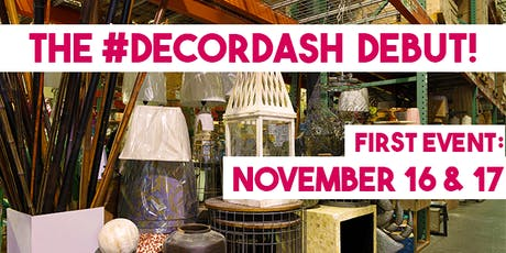 #DecorDash Debut Shopping Event! tickets
