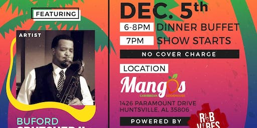 R&B Vibes Live Presents: Island Vibes Featuring Buford Crutcher