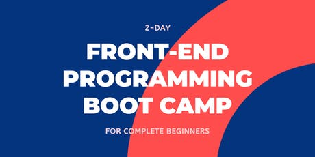 2-day Front-end Programming Boot Camp for Complete Beginners | Preface Nomad tickets