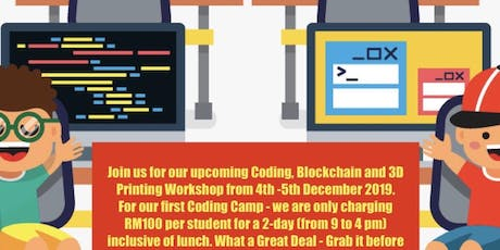 SCHOOL HOLIDAY CODING CAMP tickets
