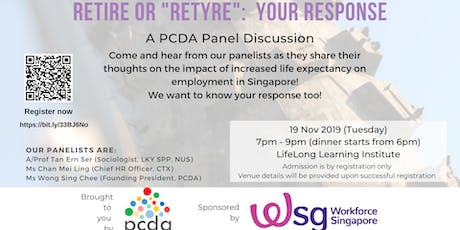 Retire or Re-tyre: Your Response (panel discussion) tickets