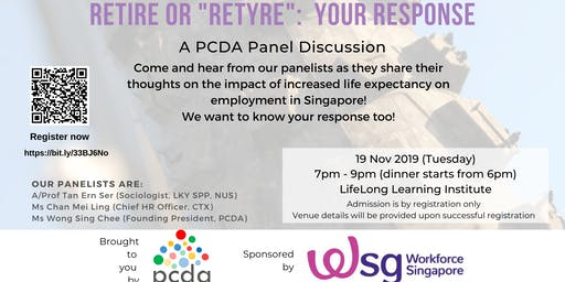 Retire or Re-tyre: Your Response (panel discussion)