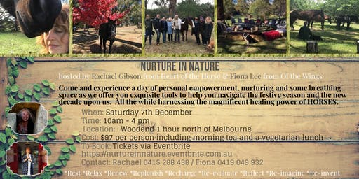 Nurture in Nature - A blissful day to Relax, Replenish & Re-imagine