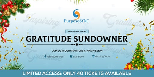 PurposeSYNC Gratitude Sundowner