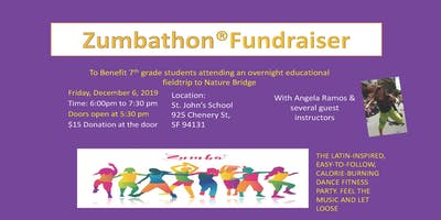 Zumbathon Fundraiser at St John!