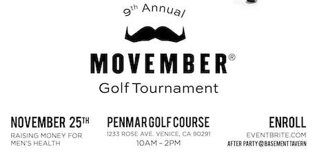 Basement Tavern 9th annual Movember Golf Tournament tickets