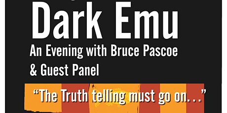 Dark Emu | Evening with Bruce Pascoe | Ballawinne Festival tickets