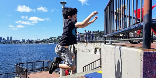 Parkour for 6-11yrs (Chimpanzees): Drop-In Community Class
