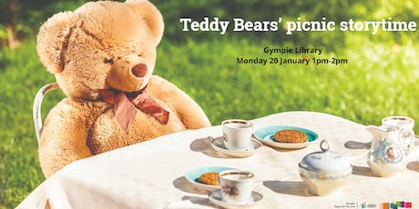 Teddy bears' picnic storytime - Gympie Library tickets