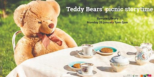 Teddy bears' picnic storytime - Gympie Library
