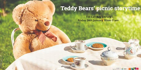 Teddy bears' picnic storytime - Tin Can Bay Library tickets