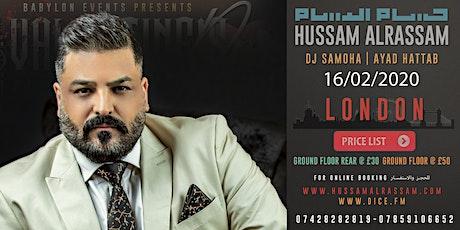 HUSSAM ALRASSAM LONDON tickets
