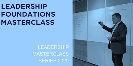 Leadership Foundations Masterclass tickets
