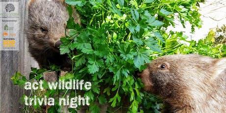 ACT Wildlife Trivia Night tickets