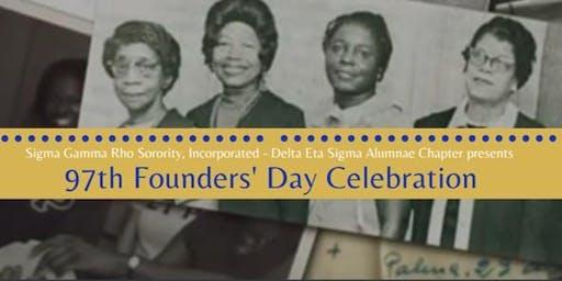 97th Founders' Day Luncheon - Sigma Gamma Rho Sorority, Inc.