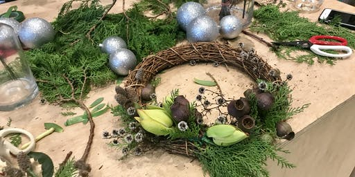 Sustainable Living: Christmas Wreath Making