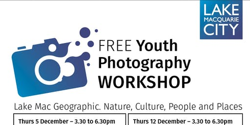 Photgraphy workshop: Lake Mac Geographic: Nature, Culture, People & Places