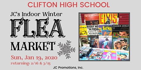 JC's Clifton High School Flea Market Indoors tickets