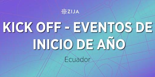 KICK OFF - Eventos de Inicio de Año de Zija Latinoamérica