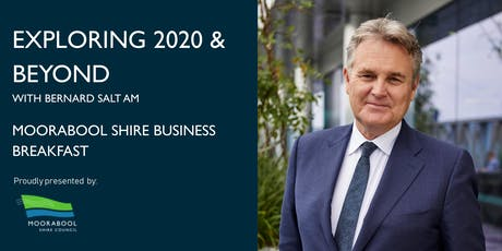 Exploring 2020 and Beyond - Moorabool Shire Business Breakfast tickets