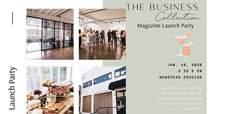 The Business Collection Magazine Launch Party tickets