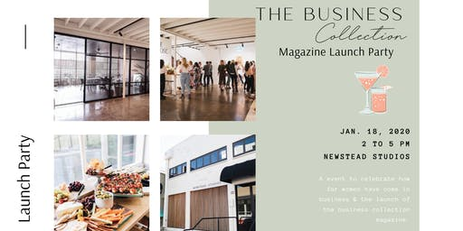 The Business Collection Magazine Launch Party
