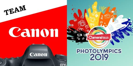 TEAM CANON - CAMERAHAUS PHOTOLYMPICS 2019