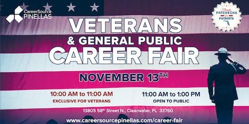Veterans & General Public Career Fair