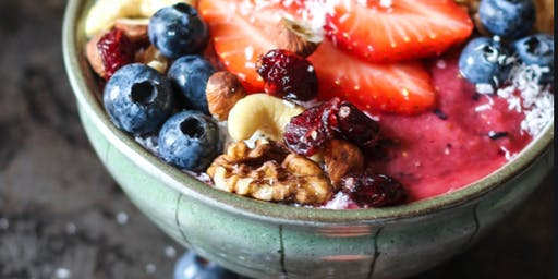 Summer Smoothie Bowls for Vitality w Essential Oils