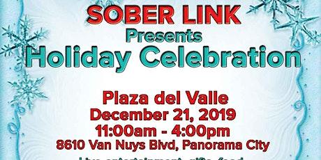 Sober Link holiday celebration Program tickets