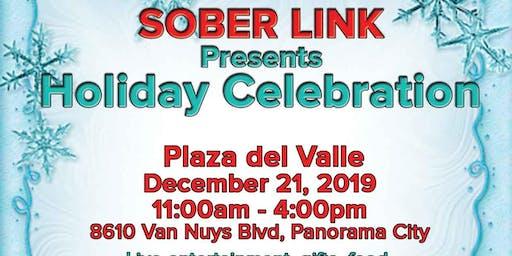 Sober Link holiday celebration Program