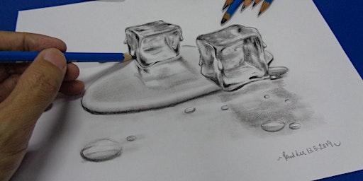 Simei: Pencil-Sketching (Beginners) Feb 4 - Apr 7 (Tues) 10 sessions