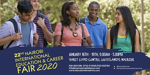 22nd Nairobi International Education and Career Fair 2020