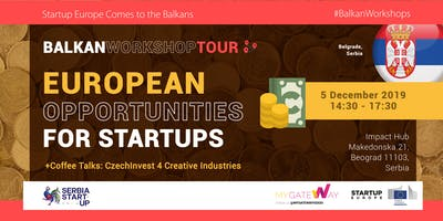 How can startups benefit from EU funds? (Belgrade, Serbia)