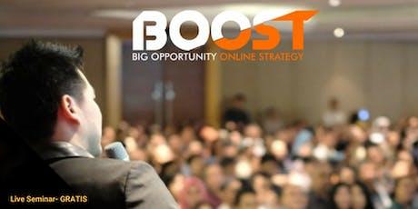 Seminar 3 Rahasia untuk Sukses Berbisnis Lewat Internet tickets