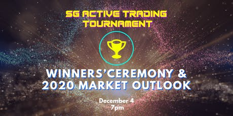 2020 MARKET OUTLOOK & SG ACTIVE TRADING TOURNAMENT WINNERS' CEREMONY tickets