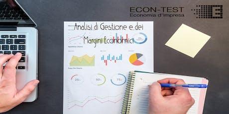Analisi di gestione e dei Margini economici  - Padova biglietti