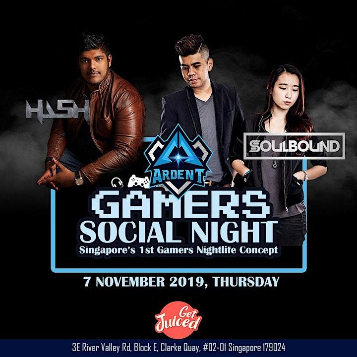 Gamers Social Night image