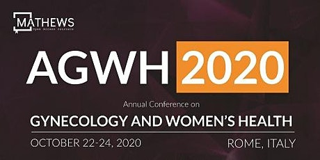 Annual Conference on Gynecology and Women's Health (AGWH 2020) tickets