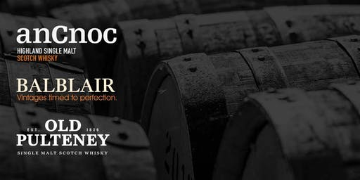 anCnoc, Balblair, Old Pulteney, and Speyburn Scotch Whisky Dinner