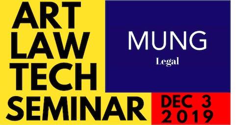 MungLEGAL x MUNG7ART Art Tech Law Seminar