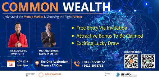 COMMOM WEALTH by Unity of Wealth