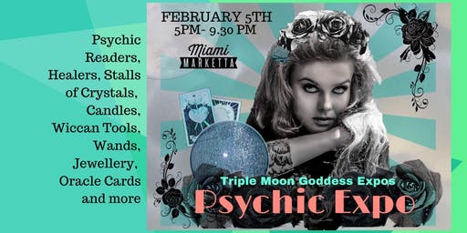 Triple Moon Goddess Psychic Event Night at the Miami Marketta