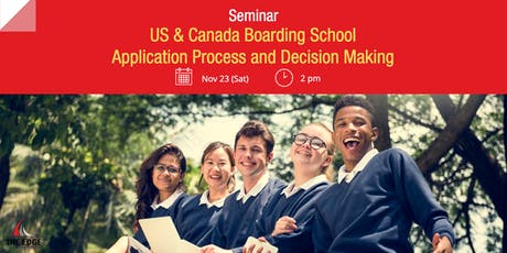 Seminar: US & Canada Boarding School Application Process and Decision Making tickets