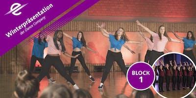 Dance Company Winterpräsentation BLOCK 1