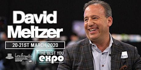 David Meltzer at The Best You EXPO 2020, Los Angeles tickets